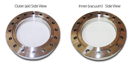 Ultra High Vacuum Window   Sun Instruments